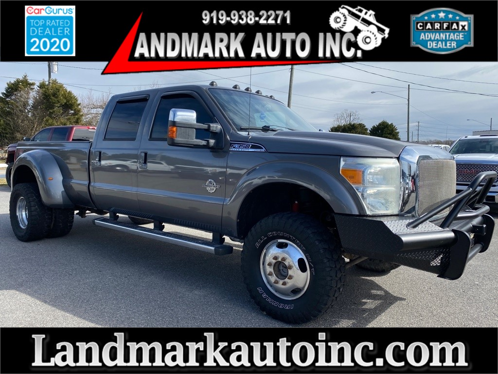 2012 FORD F350 Lariat Crew Cab LB DRW 4WD for sale by dealer