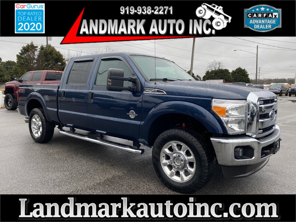 2015 FORD F250 XLT Crew Cab 4WD for sale by dealer