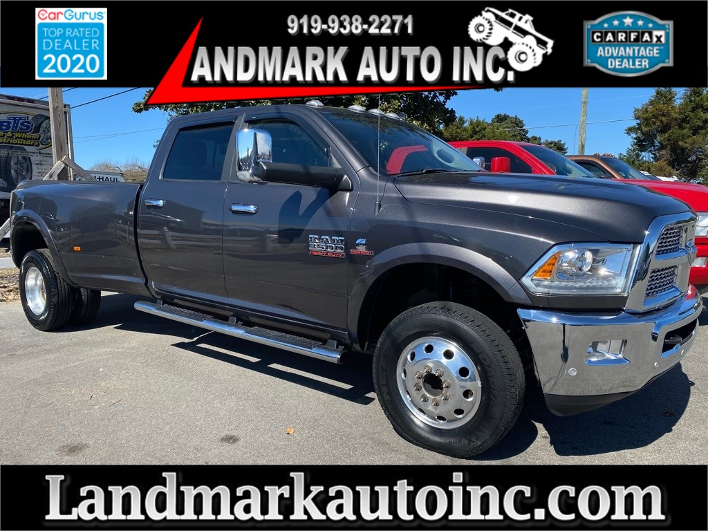 2018 RAM 3500 Laramie Crew Cab LB DRW 4WD for sale by dealer
