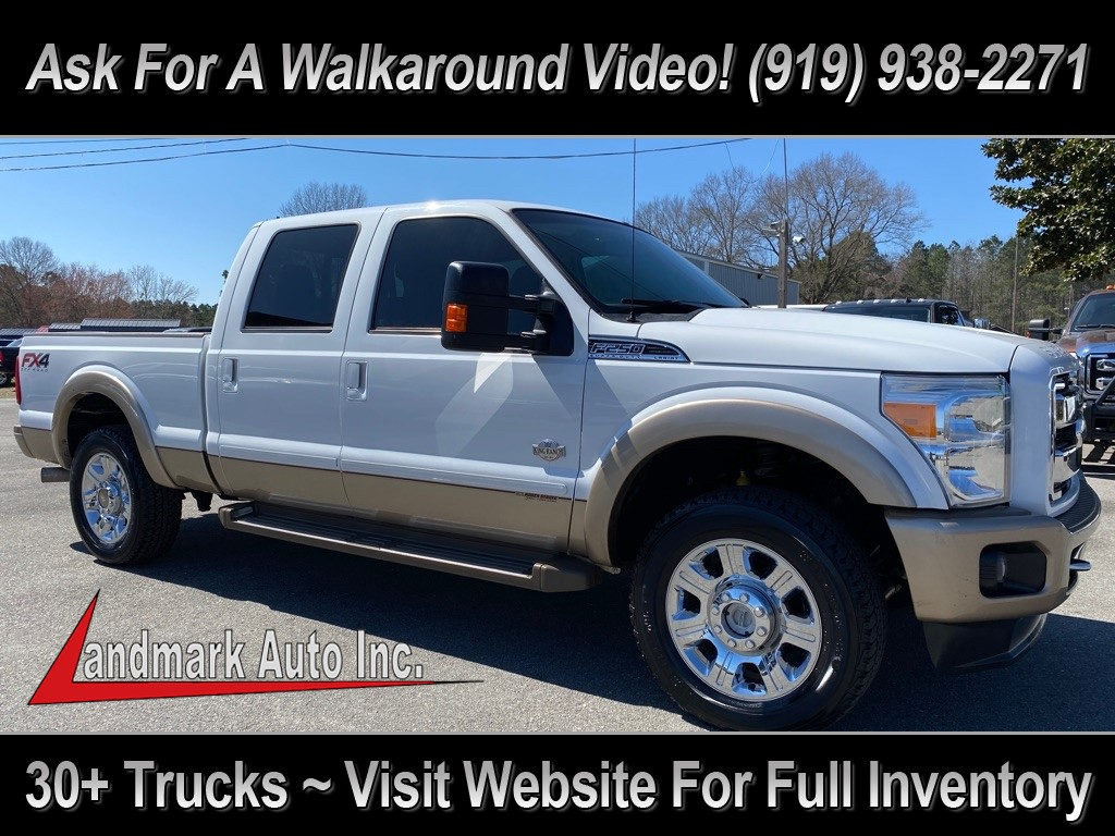 2012 FORD F250 King Ranch Crew Cab 4WD for sale by dealer