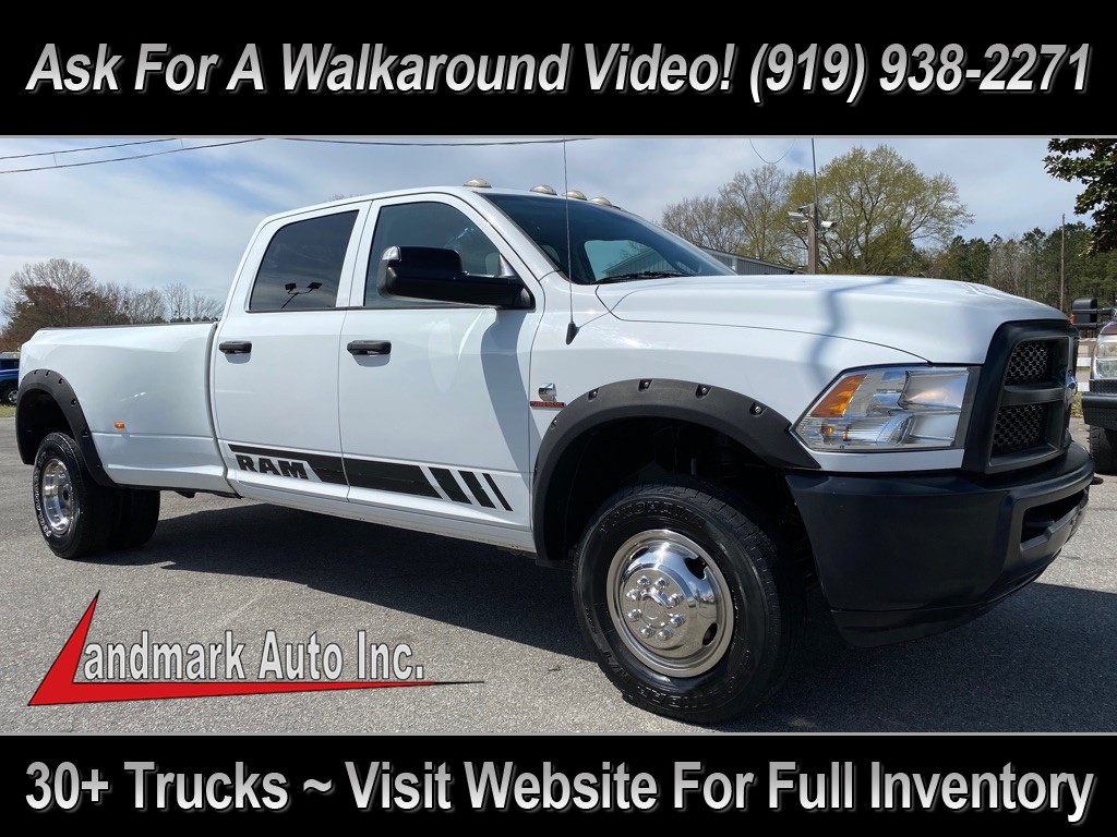2015 RAM 3500 Tradesman Crew Cab LB DRW 4WD for sale by dealer