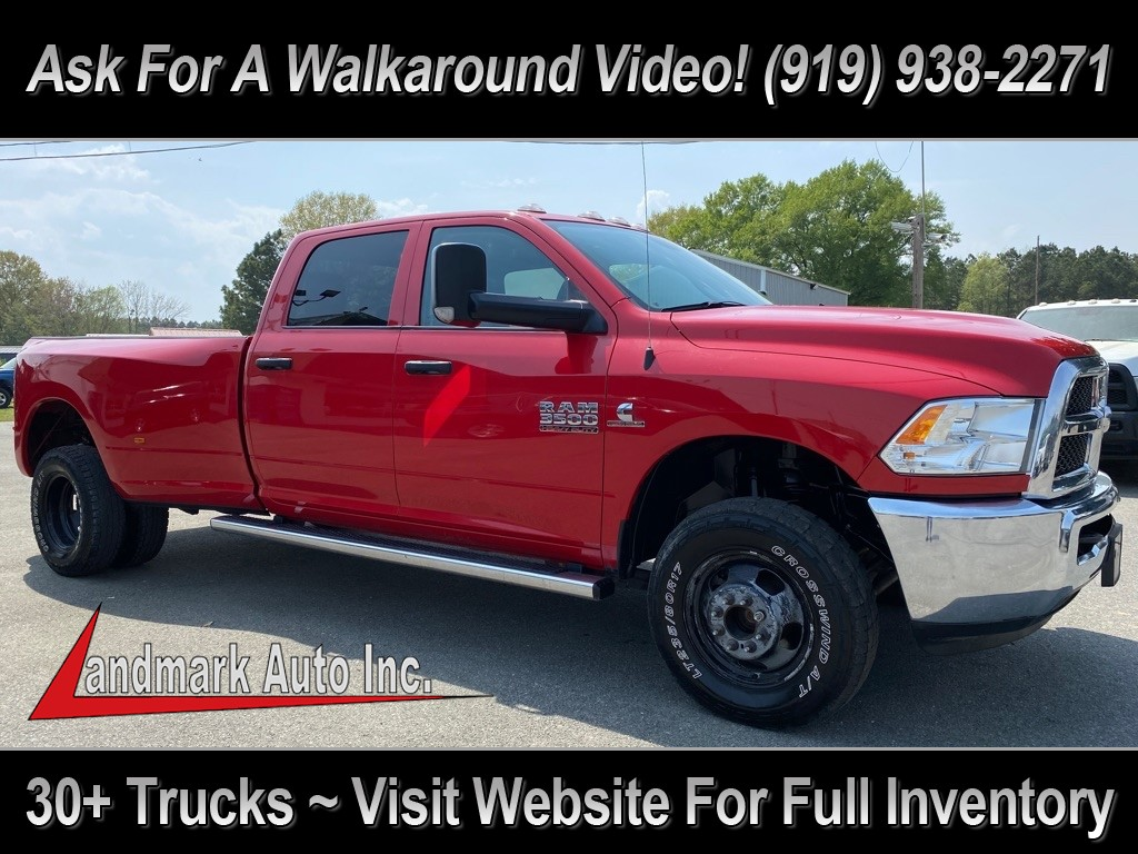 2018 RAM 3500 Tradesman Crew Cab LB DRW 4WD for sale by dealer