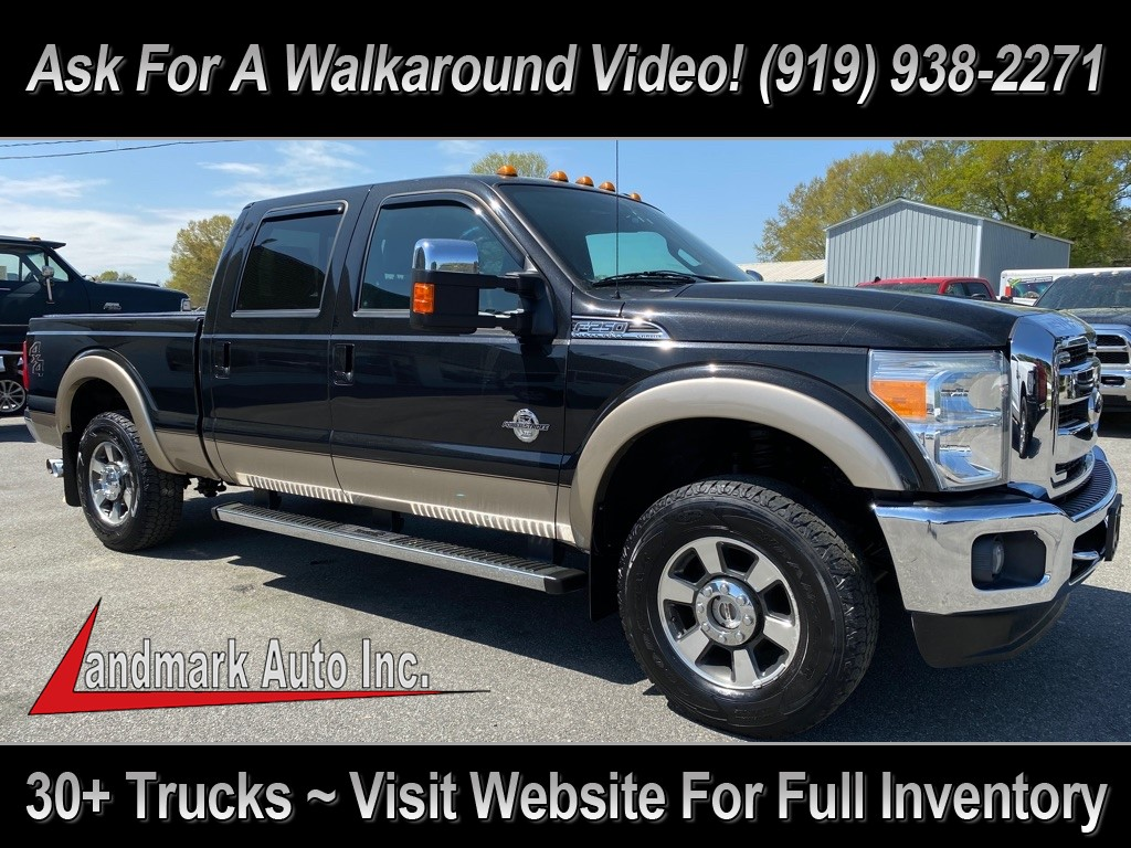 2011 FORD F250 Lariat Crew Cab 4WD for sale by dealer