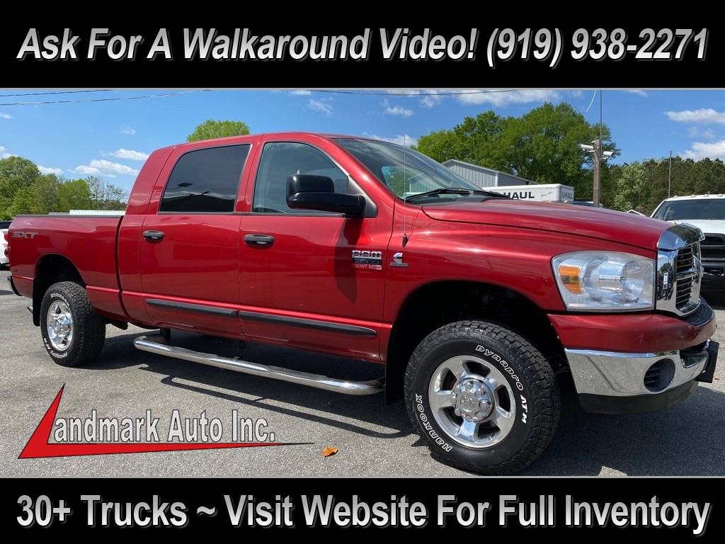 2008 RAM 2500 HEAVY DUTY CREW CAB 4WD for sale by dealer