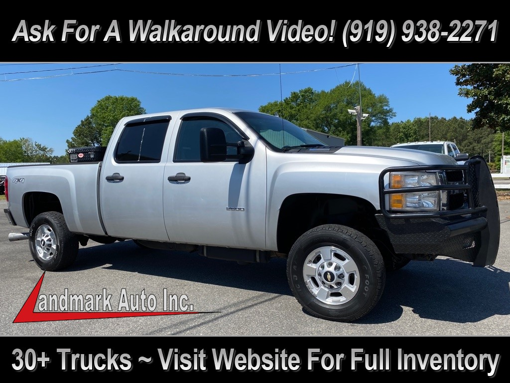 2011 CHEVROLET SILVERADO 2500 LT Crew Cab 4WD for sale by dealer