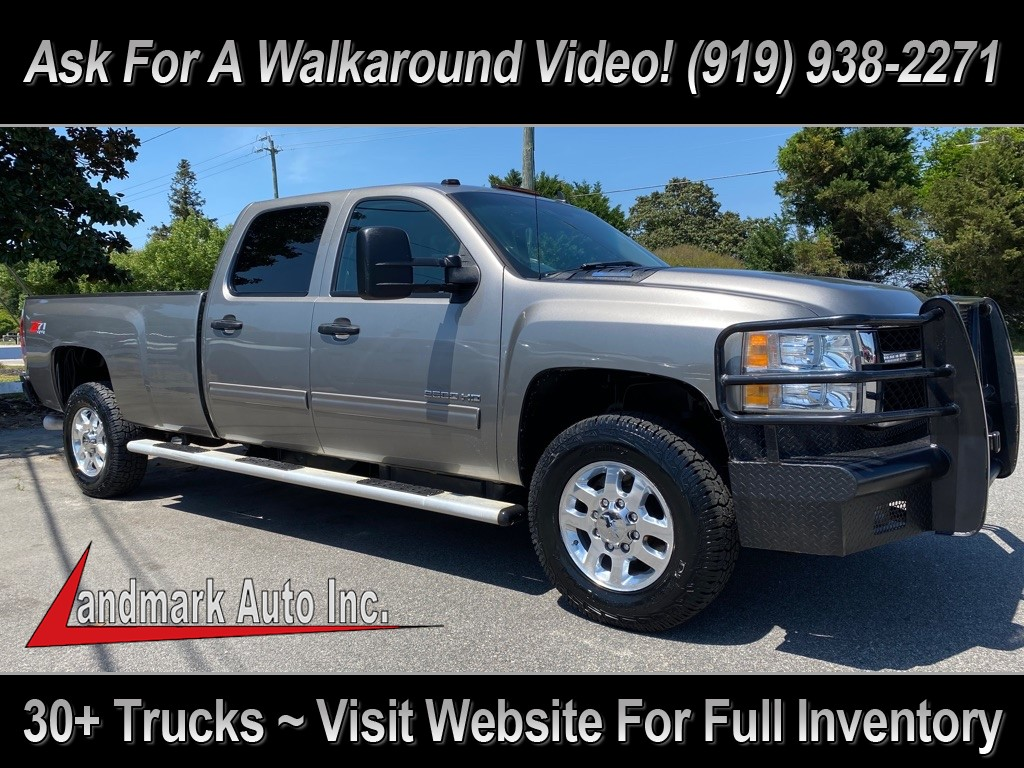 2012 CHEVROLET SILVERADO 2500 LT Crew Cab 4WD for sale by dealer
