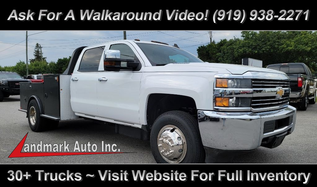 2015 CHEVROLET SILVERADO 3500 Work Truck Crew Cab LB RWD for sale by dealer