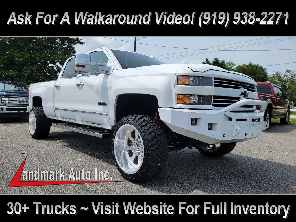 2015 CHEVROLET SILVERADO 2500 HIGH COUNTRY for sale by dealer