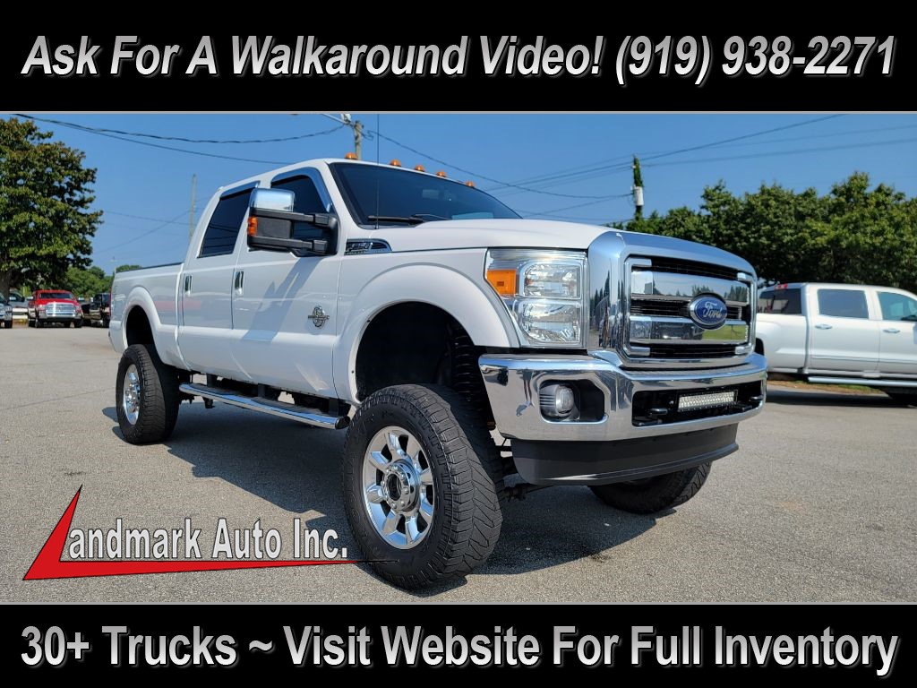 2013 FORD F250 LARIAT CREW CAB 4WD for sale by dealer
