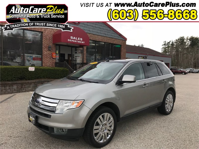 2008 FORD EDGE LIMITED Wolfeboro NH