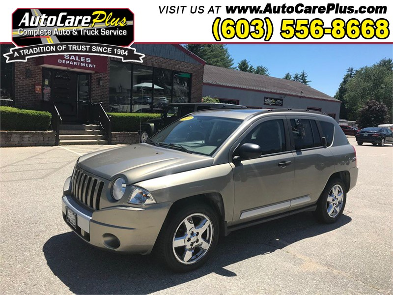 2007 JEEP COMPASS LIMITED Wolfeboro NH