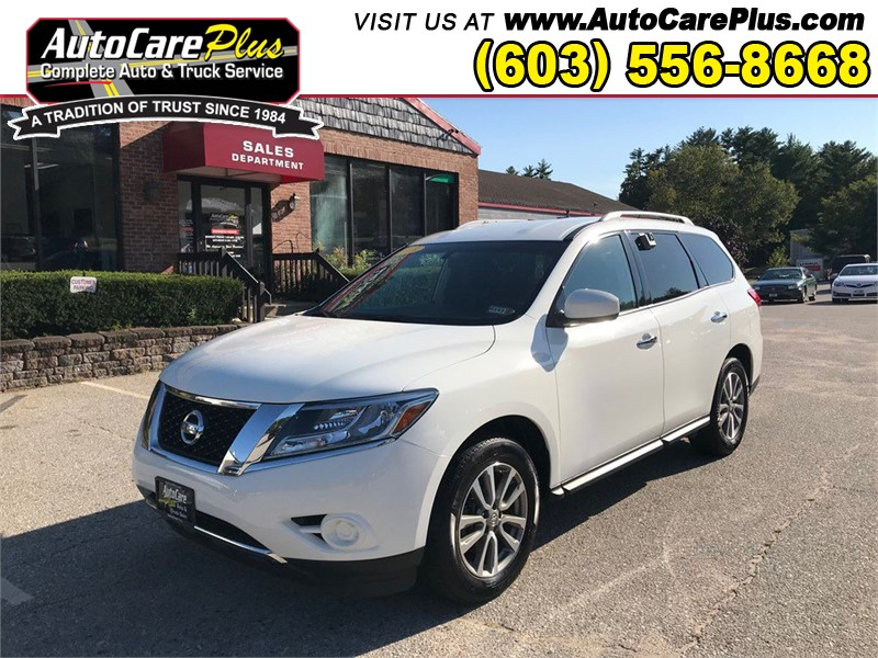 2016 NISSAN PATHFINDER S for sale by dealer