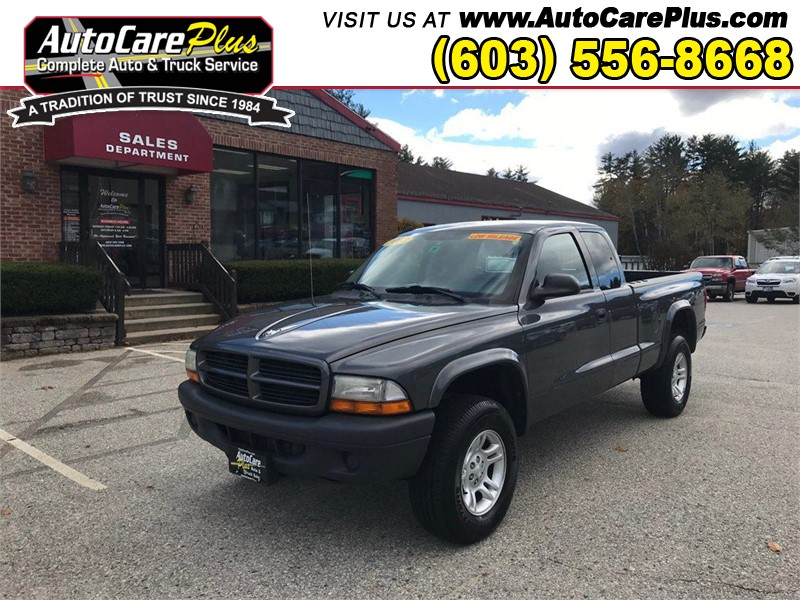 2003 DODGE DAKOTA SXT Wolfeboro NH