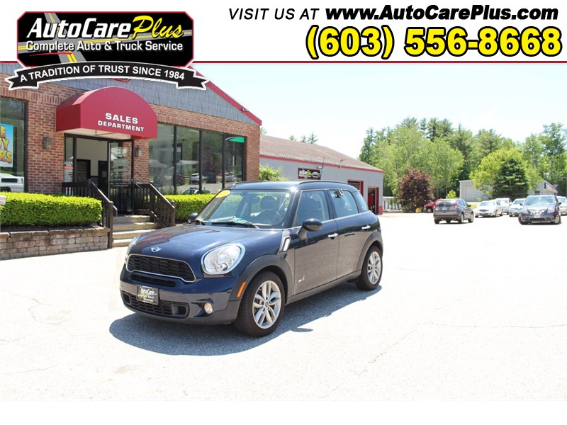 2013 MINI COOPER S COUNTRYMAN Wolfeboro NH