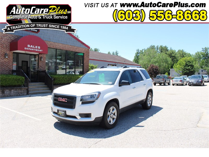 2016 GMC ACADIA SLE for sale by dealer