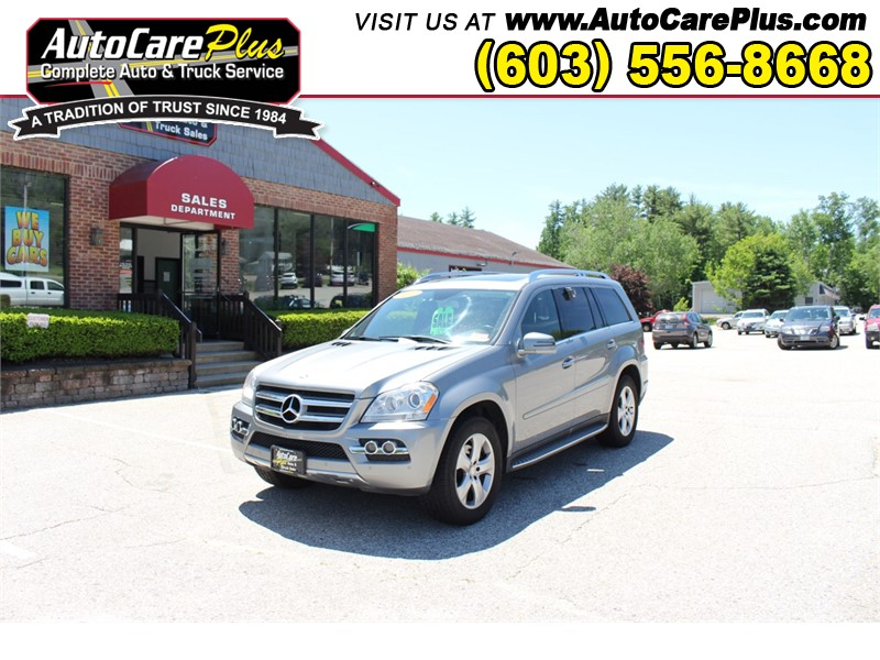 2011 MERCEDES-BENZ GL 450 4 MATIC Wolfeboro NH