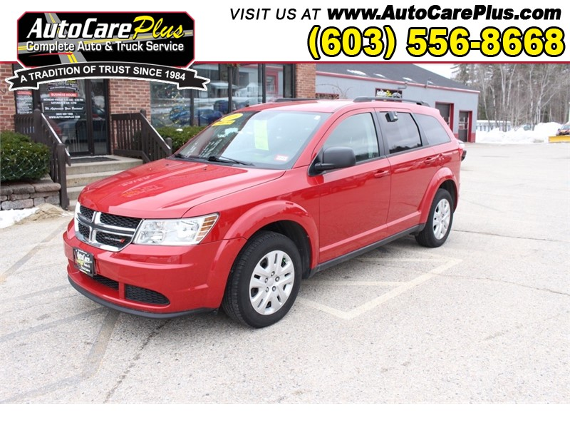 2016 DODGE JOURNEY SE for sale by dealer