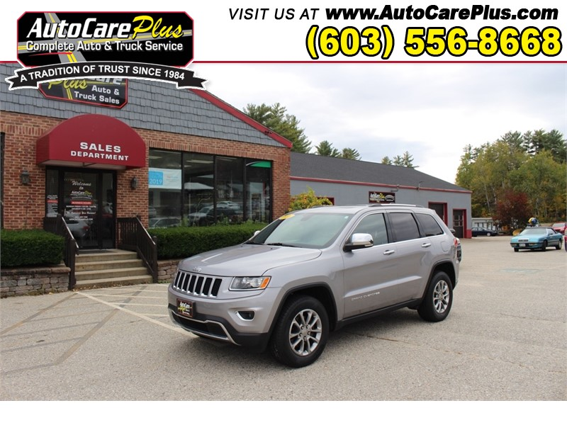 2016 JEEP GRAND CHEROKEE LIMITED for sale by dealer