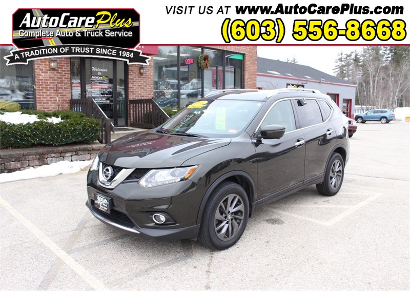 2016 NISSAN ROGUE SL for sale by dealer