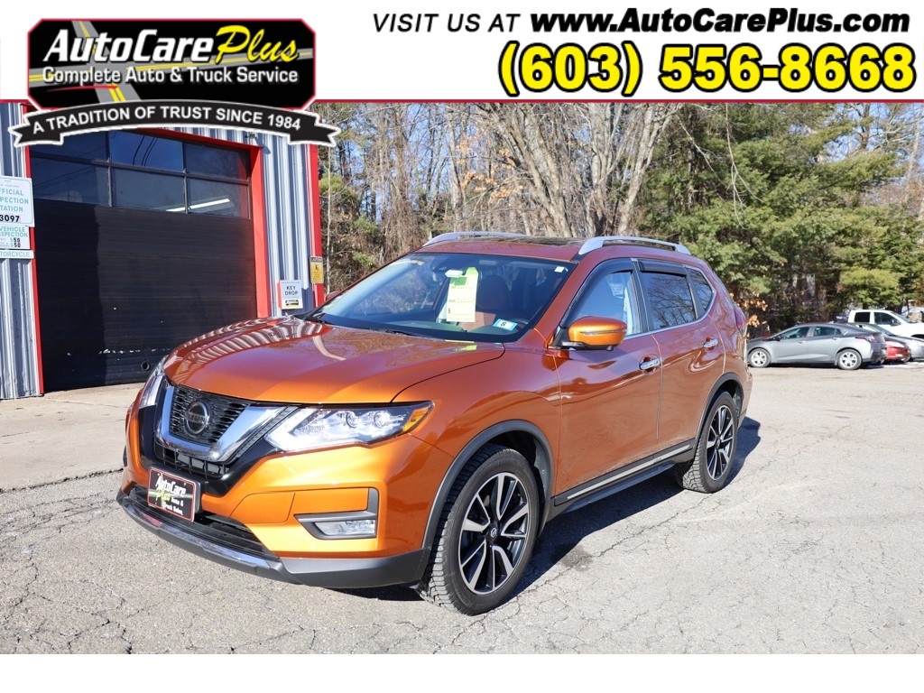 2018 NISSAN ROGUE SL for sale by dealer
