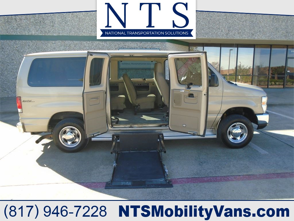 2009 FORD E150 LOWERED FLOOR for sale by dealer