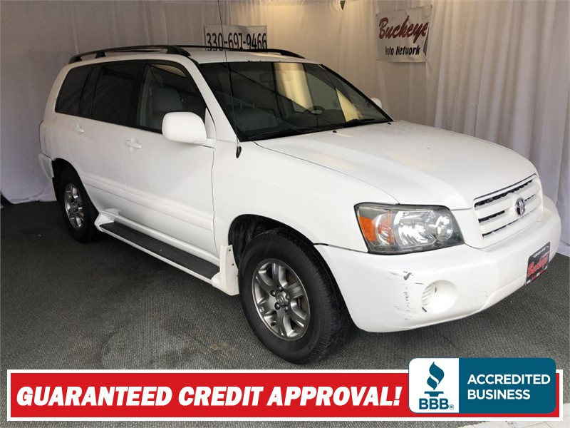 2005 TOYOTA HIGHLANDER LIMITED Akron OH
