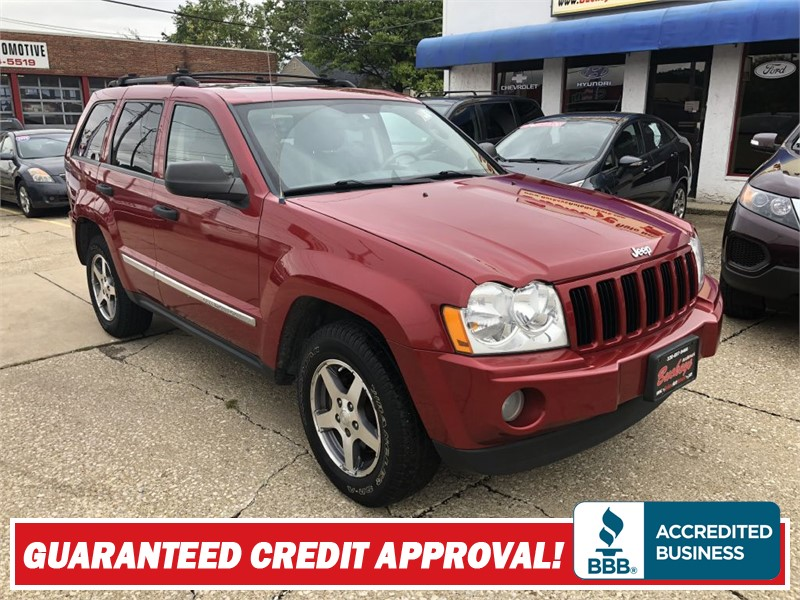 2005 JEEP GRAND CHEROKEE LAREDO for sale by dealer