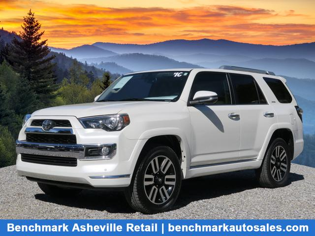 A used 2016 Toyota 4Runner AWD Limited Asheville NC