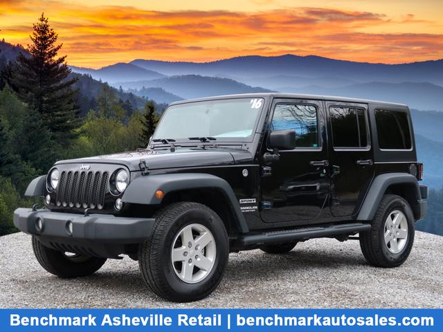 2016 Jeep Wrangler Unlimited 4X4 Sport S