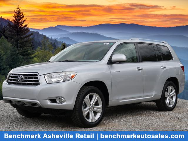 A used 2008 Toyota Highlander AWD Limited Asheville NC