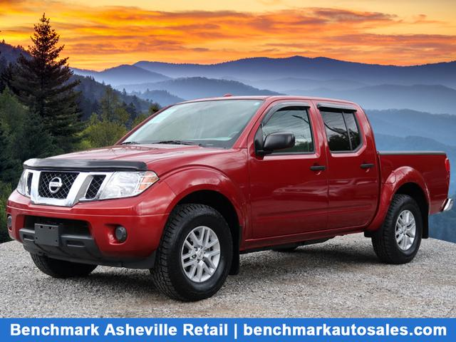 A used 2016 Nissan Frontier 4X4 SV Asheville NC