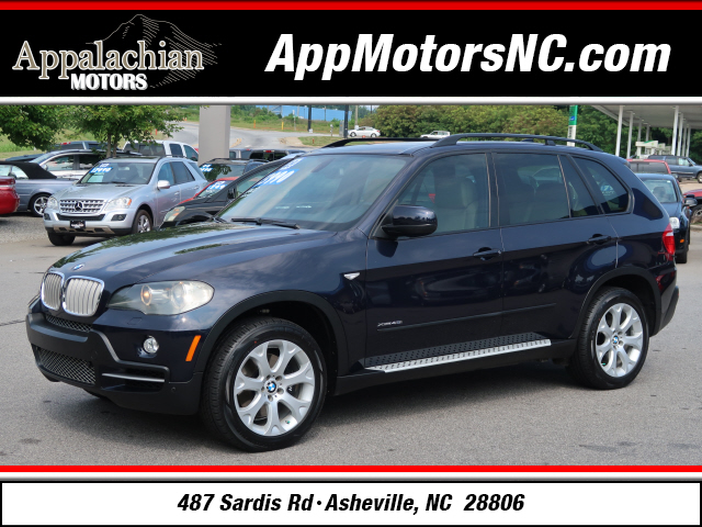 A used 2009 BMW X5 xDrive48i Asheville NC