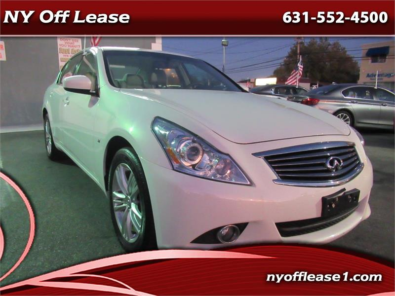 2015 Infiniti Q40 4dr Sdn AWD Copiague NY