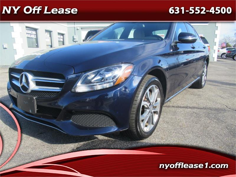2016 Mercedes-Benz C-Class 4dr Sdn C 300 4MATIC Copiague NY