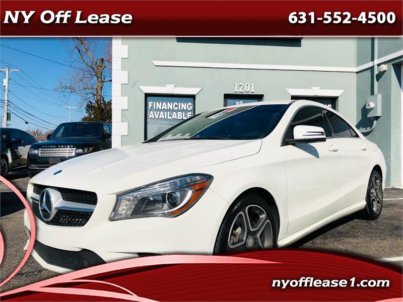 2014 Mercedes-Benz CLA-Class 4dr Sdn CLA 250 4MATIC Copiague NY