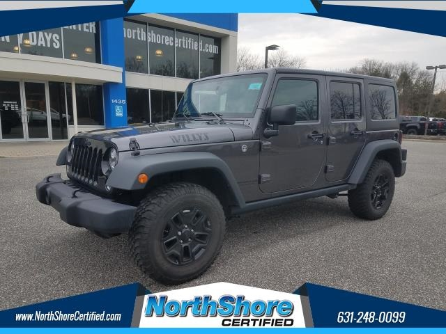 2016 Jeep Wrangler Unlimited Willys Wheeler for sale by dealer
