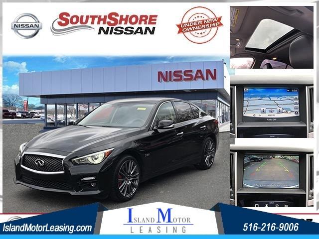 2017 INFINITI Q50 Red Sport 400 for sale by dealer