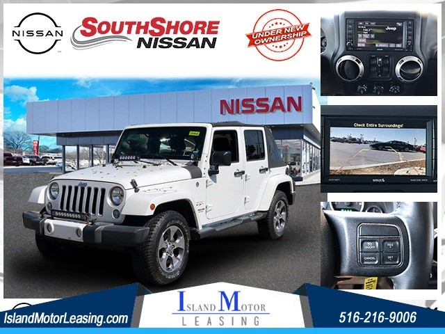 2016 Jeep Wrangler Unlimited Sahara for sale by dealer