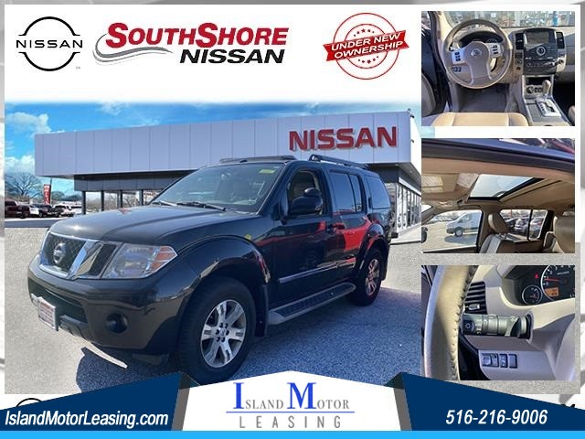 2012 Nissan Pathfinder Silver for sale by dealer