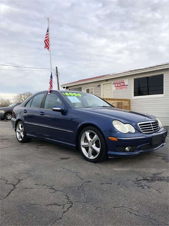 2005 MERCEDES-BENZ C230K for sale by dealer