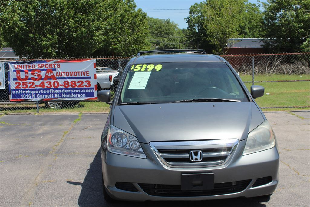 2007 HONDA ODYSSEY EXL for sale by dealer