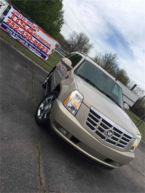 2007 CADILLAC ESCALADE LUXURY for sale by dealer
