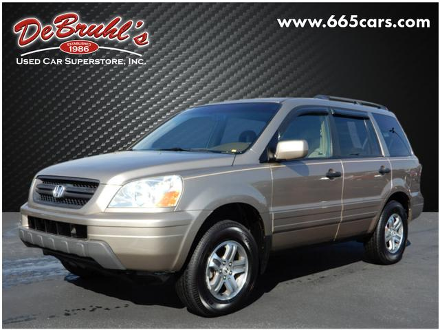 2004 honda pilot ex for sale in asheville debruhl s used car superstore