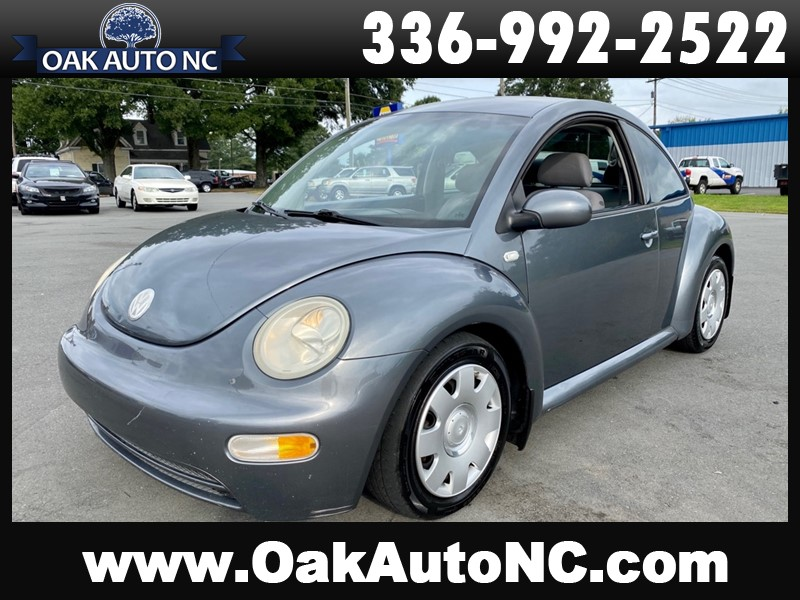 2003 VOLKSWAGEN NEW BEETLE GL TDI for sale by dealer