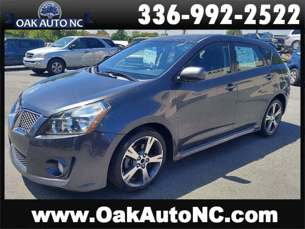 2009 PONTIAC VIBE GT-NO ACCIDENTS for sale by dealer