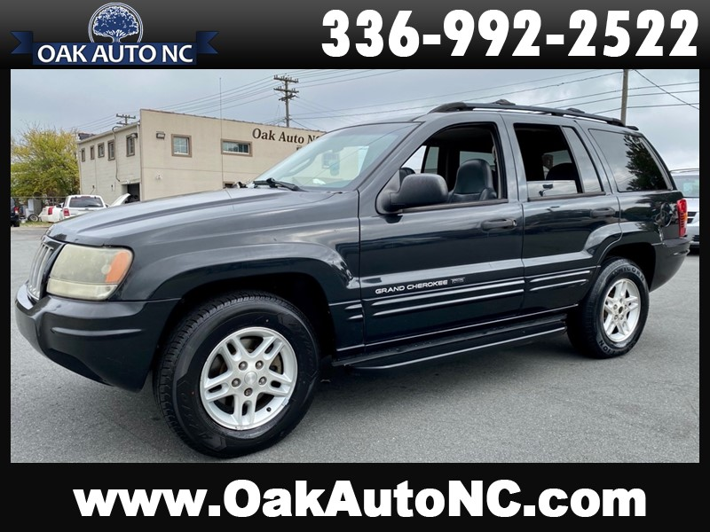 2004 JEEP GRAND CHEROKEE LAREDO for sale by dealer