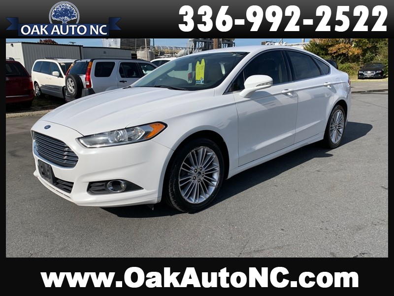 2014 FORD FUSION SE NO ACCIDENTS 31 CARFAX RECORDS for sale by dealer