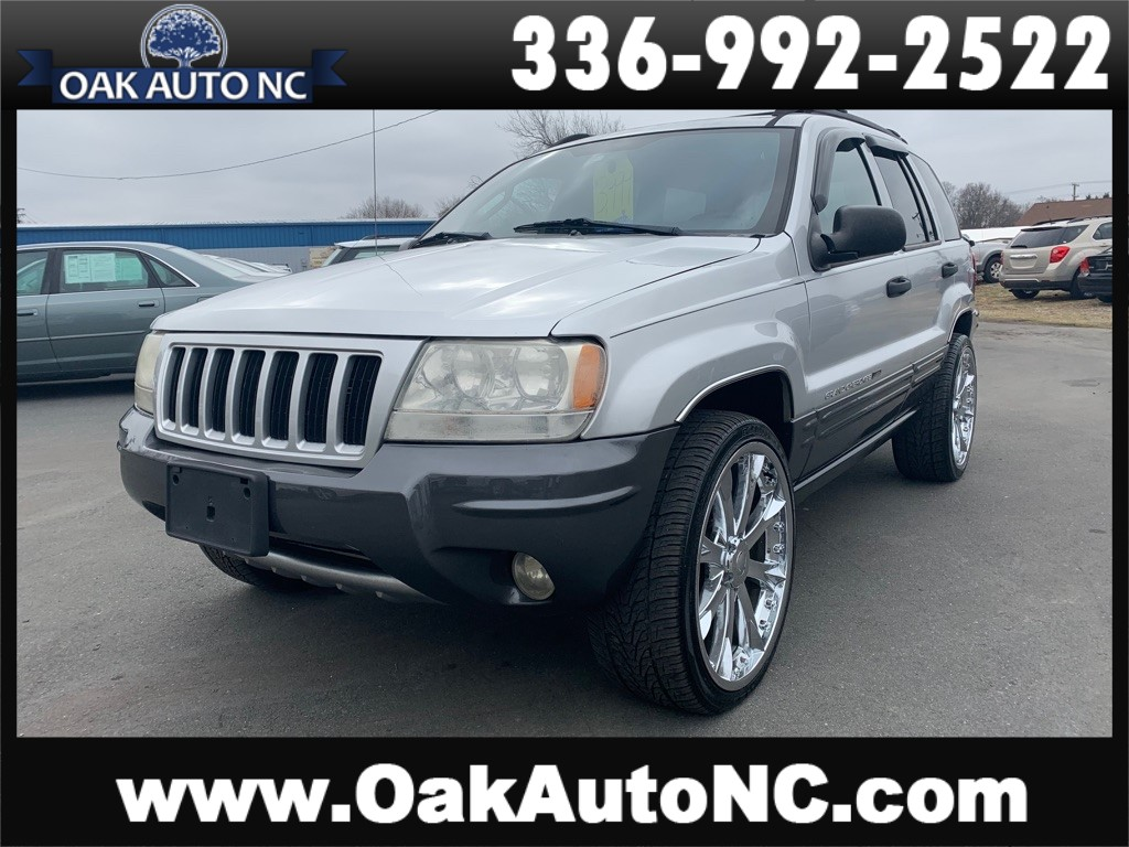 2004 JEEP GRAND CHEROKEE LAREDO NC OWNED for sale by dealer