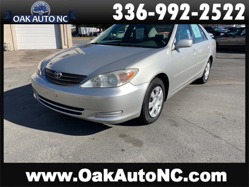 2004 TOYOTA CAMRY LE-NO ACCIDENTS for sale by dealer