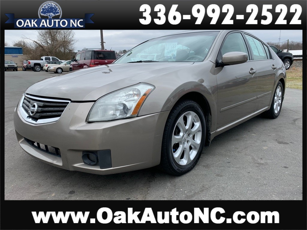 2007 NISSAN MAXIMA 3.5 SL 61 SERVICE RECORDS for sale by dealer
